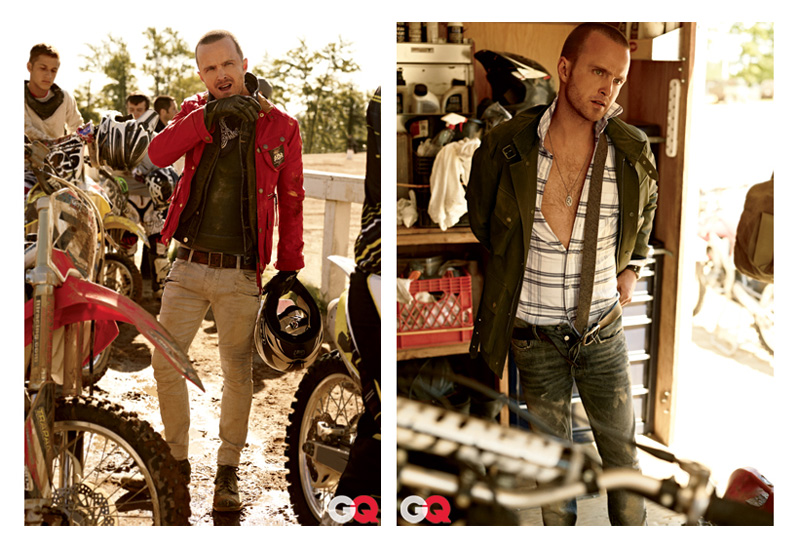 Breaking Bad's Aaron Paul Pays American GQ a Visit