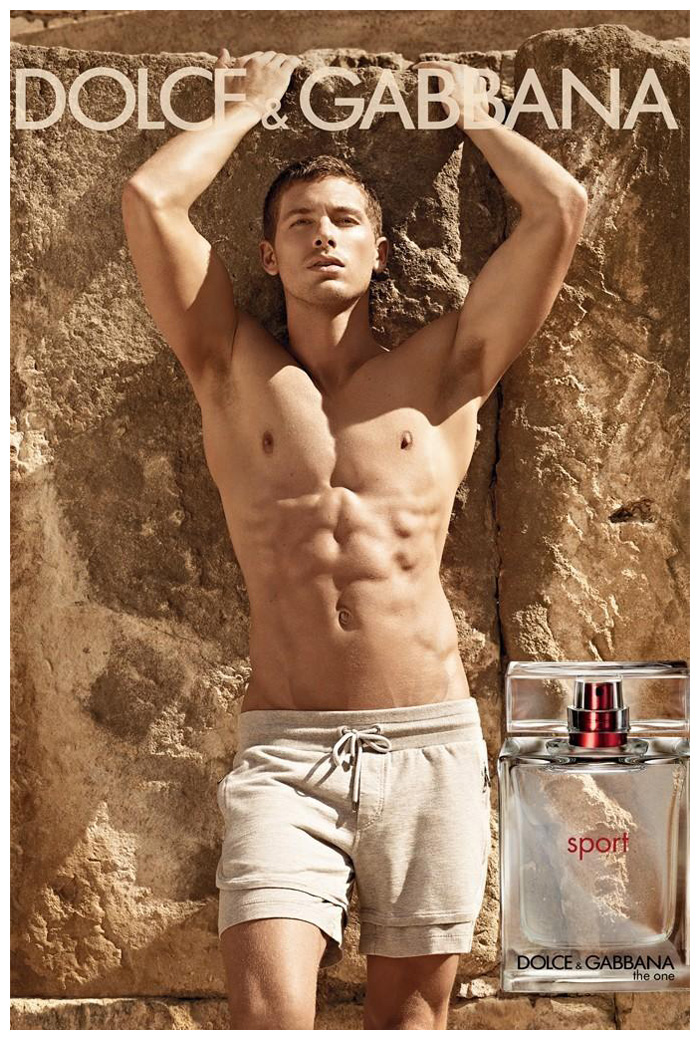 Adam Senn by Mariano Vivanco for Dolce & Gabanna The One Sport Campaign