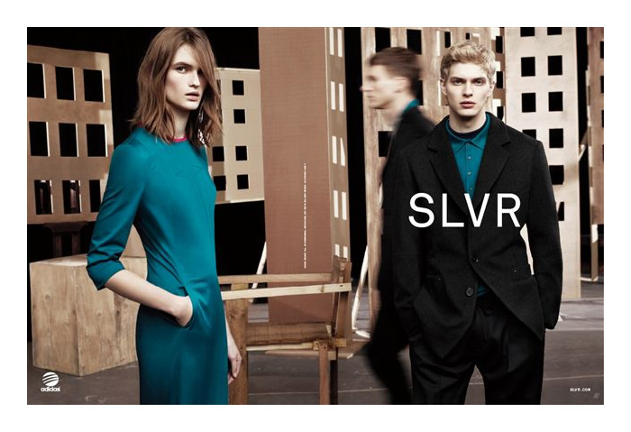 Carlos Peters & Yannick Mantele Front Adidas Slvr Fall/Winter 2012 Campaign