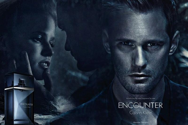Calvin Klein Taps Alexander Skarsgard for their 'Encounter' Fragrance Campaign