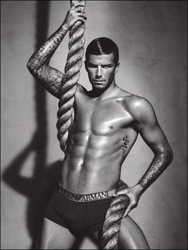 Beckham Emporio Armani Campaign
