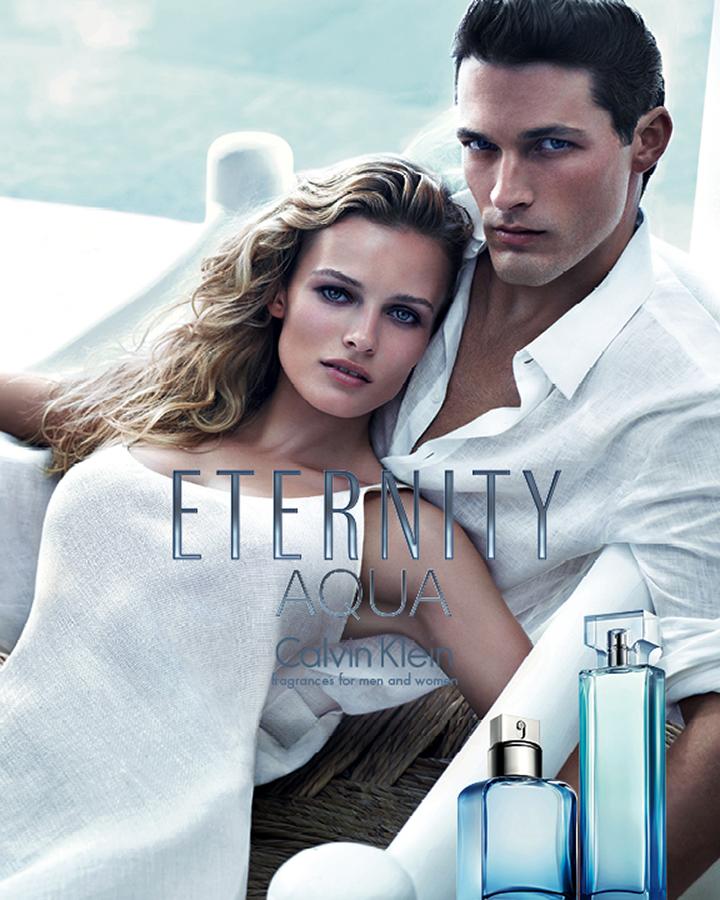 David Sims Captures a Placid Ben Hill for Calvin Klein's Eternity Aqua Campaign