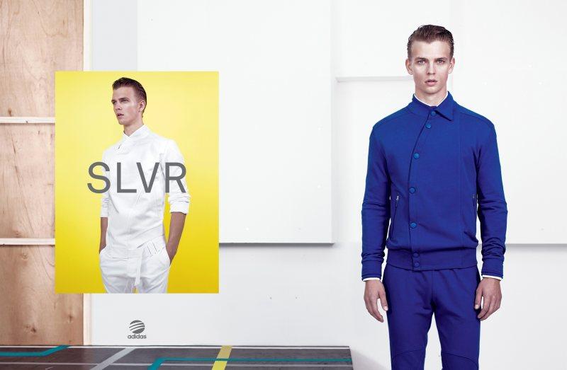 Benjamin Eidem by Willy Vanderperre for Adidas SLVR Spring/Summer 2012 Campaign