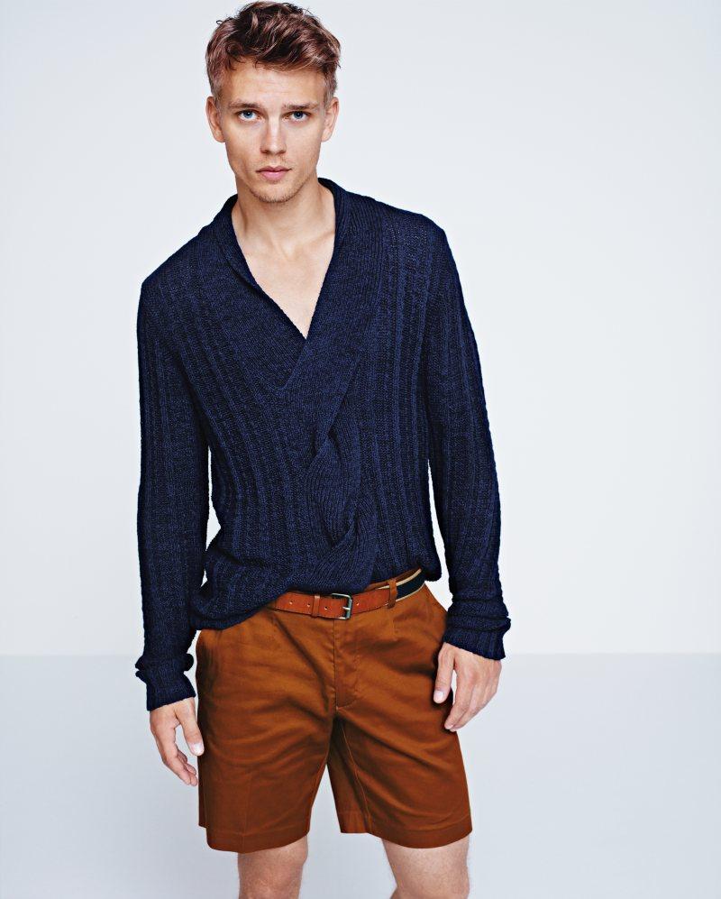 Benjamin Eidem by Kacper Kasprzyk for H&M Spring 2012