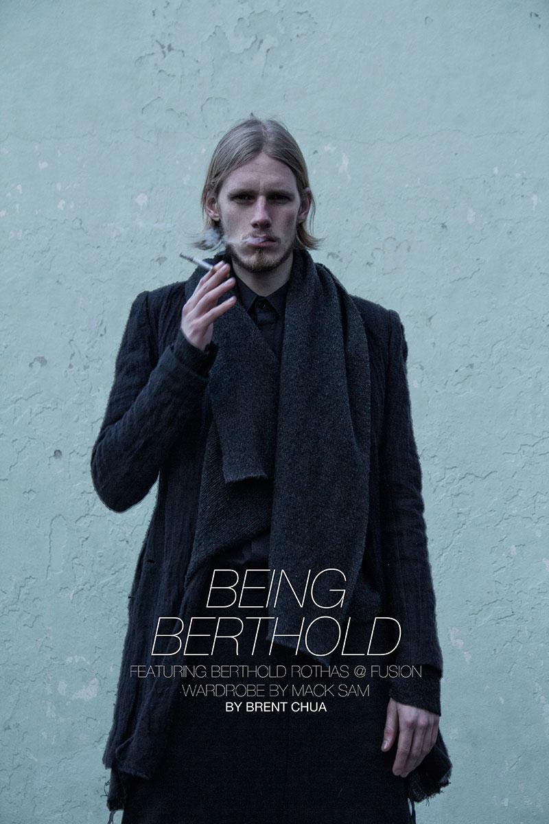 Portrait | Berthold Rothas by Brent Chua