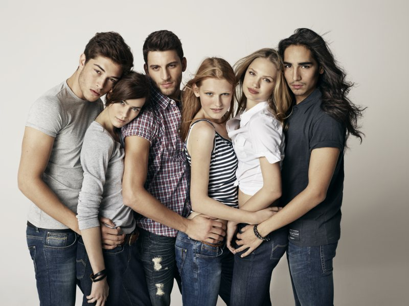 Francisco Lachowski, Willy Cartier, Jonathan & Kevin Sampaio by Simon Procter for Big Star Spring/Summer 2012 Campaign