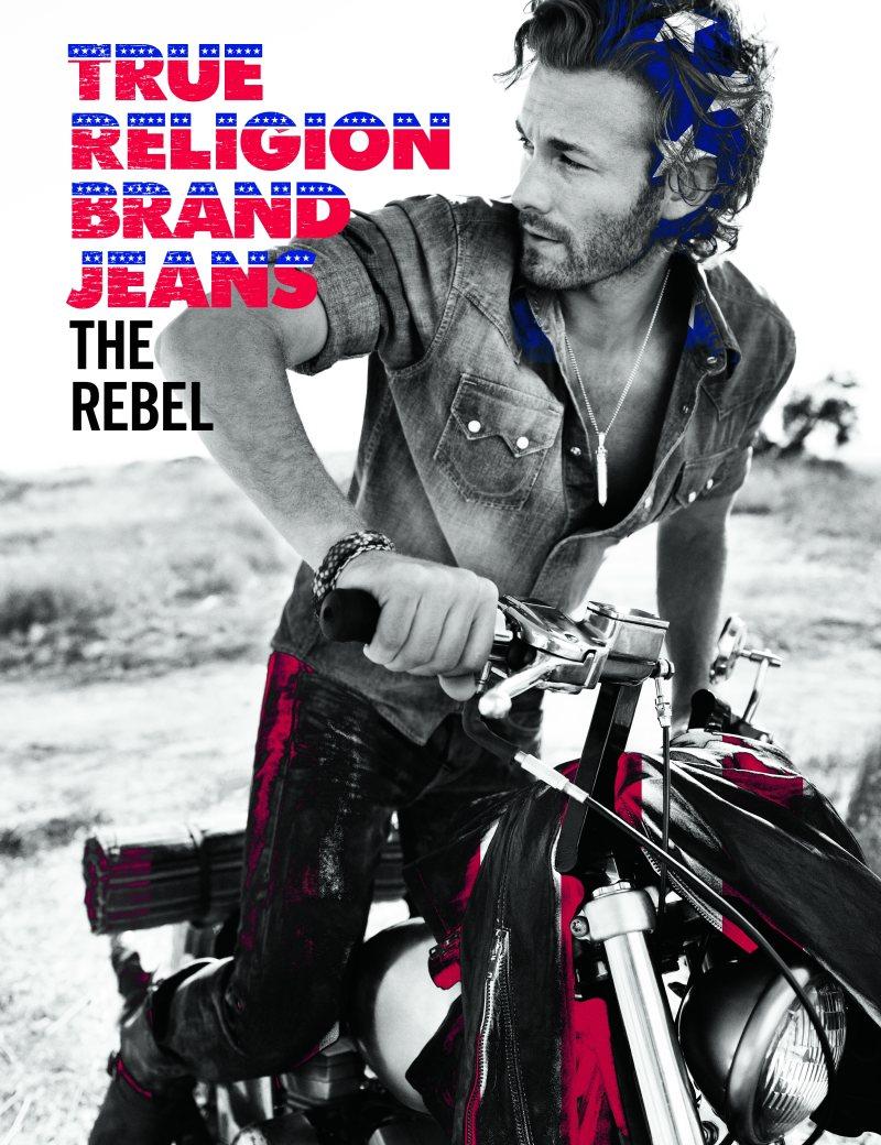Brad Kroenig by Alexi Lubomirski for True Religion Spring/Summer 2012 Campaign