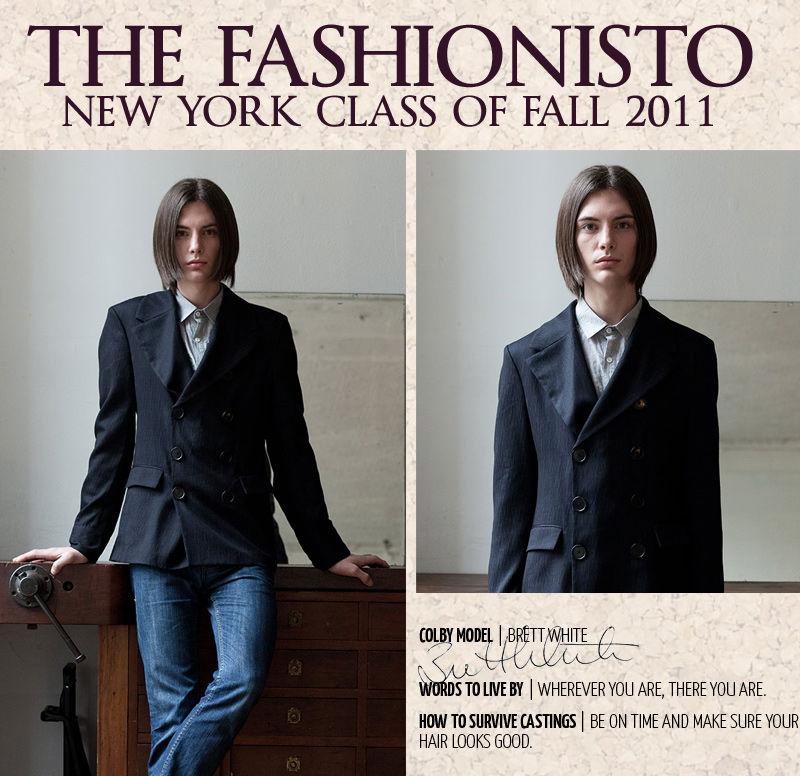 New York Class of Fall 2011 | Brett White by Steven Chu