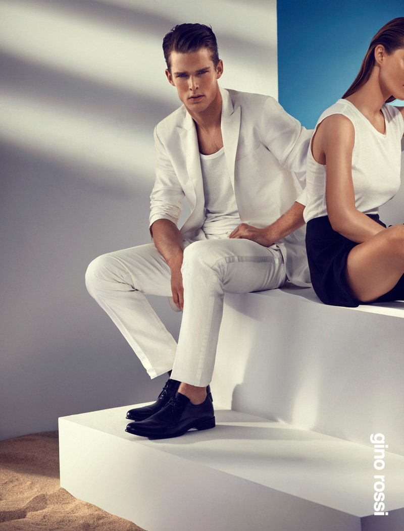 Nils Butler by Rene Habermacher for Gino Rossi Spring/Summer 2012 Campaign