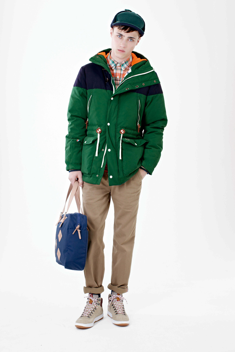 Callum Wilson is Bundled Up for Lacoste L!ve Fall/Winter 2012