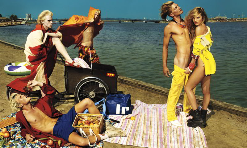 Candice Does Copenhagen by Mario Testino for VMAN