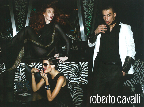 Fall Campaigns - Cavalli & Marc Jacobs