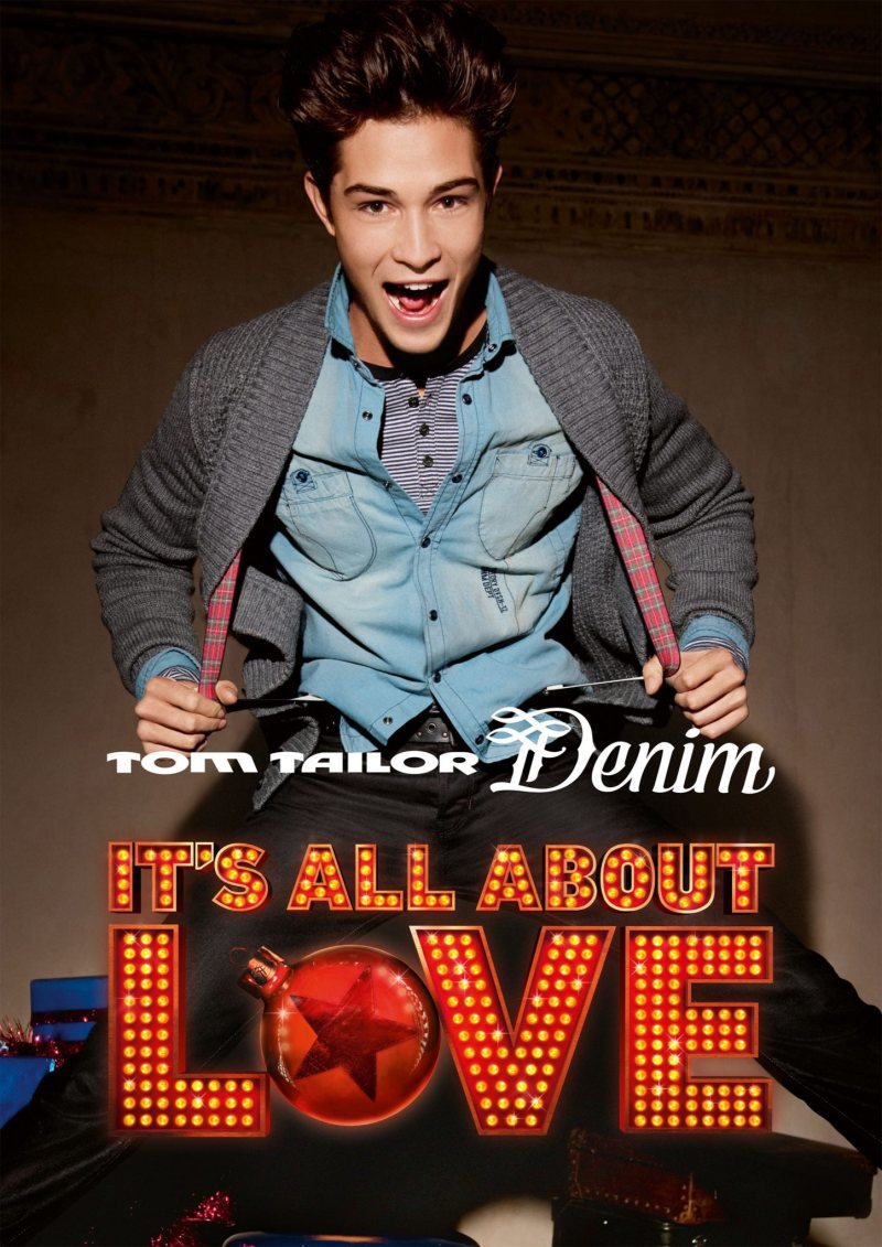 Francisco Lachowski by Daniel Schröder for Tom Tailor Denim Holiday 2011 Campaign