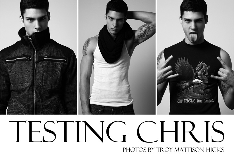 Chris Petersen by Troy Mattison Hicks for Fashionisto Exclusive