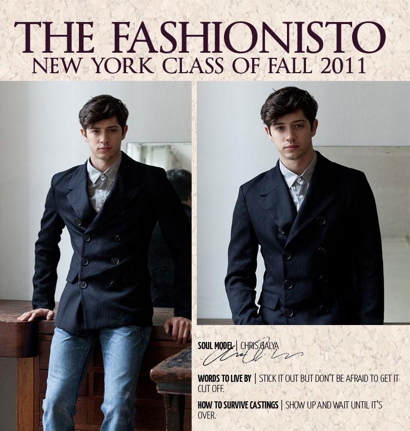New York Class of Fall 2011 | Chris Galya by Steven Chu