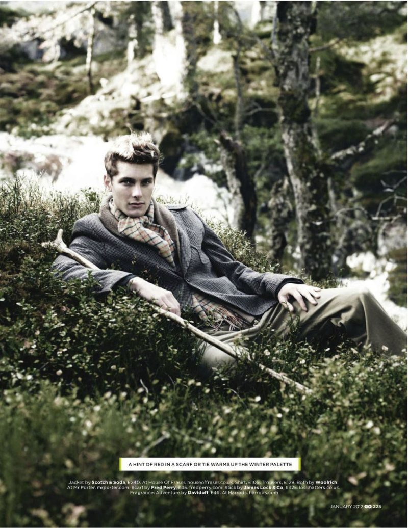 Colin Dack & James Hampson by Lee Strickland for GQ UK January 2012