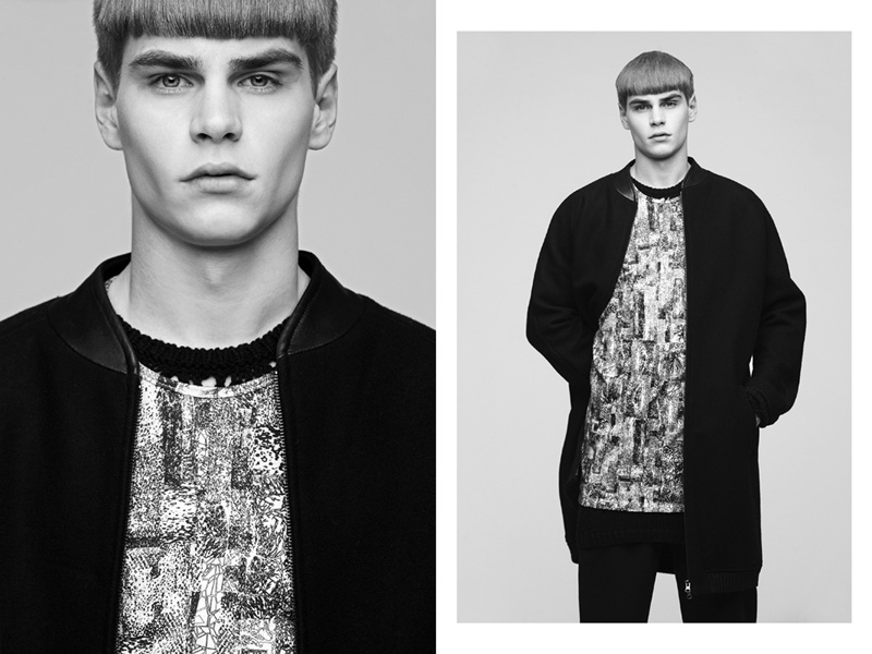 Ralf Javoiss is the Modern Wonder in COMEFORBREAKFAST Fall/Winter 2012