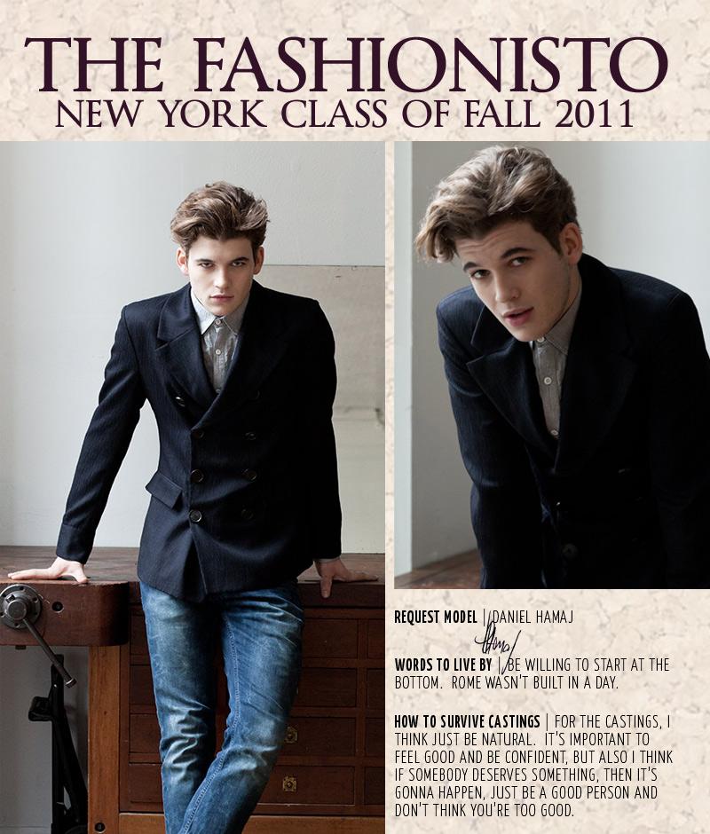 New York Class of Fall 2011 | Daniel Hamaj by Steven Chu