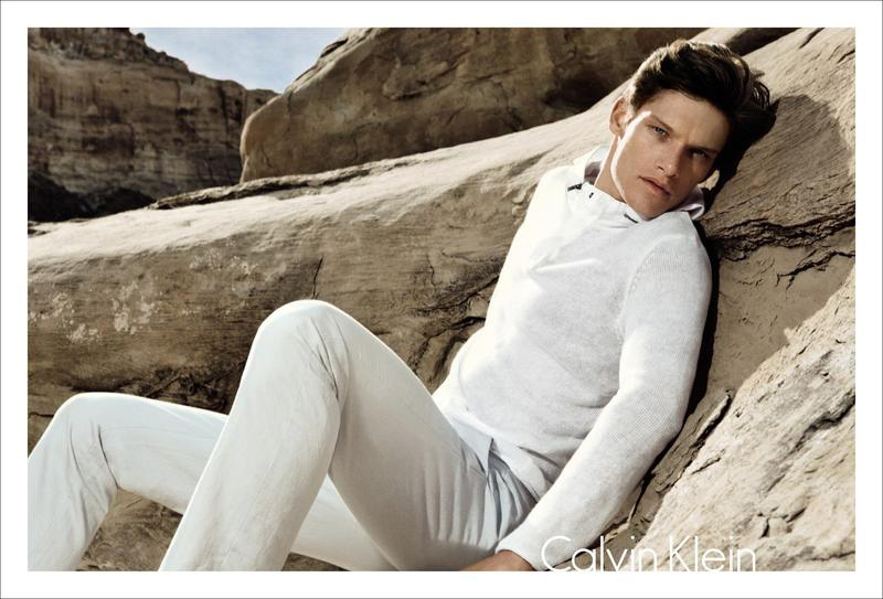 A Glowing Danny Beauchamp Stars in Calvin Klein White Label Spring/Summer 2012 Campaign