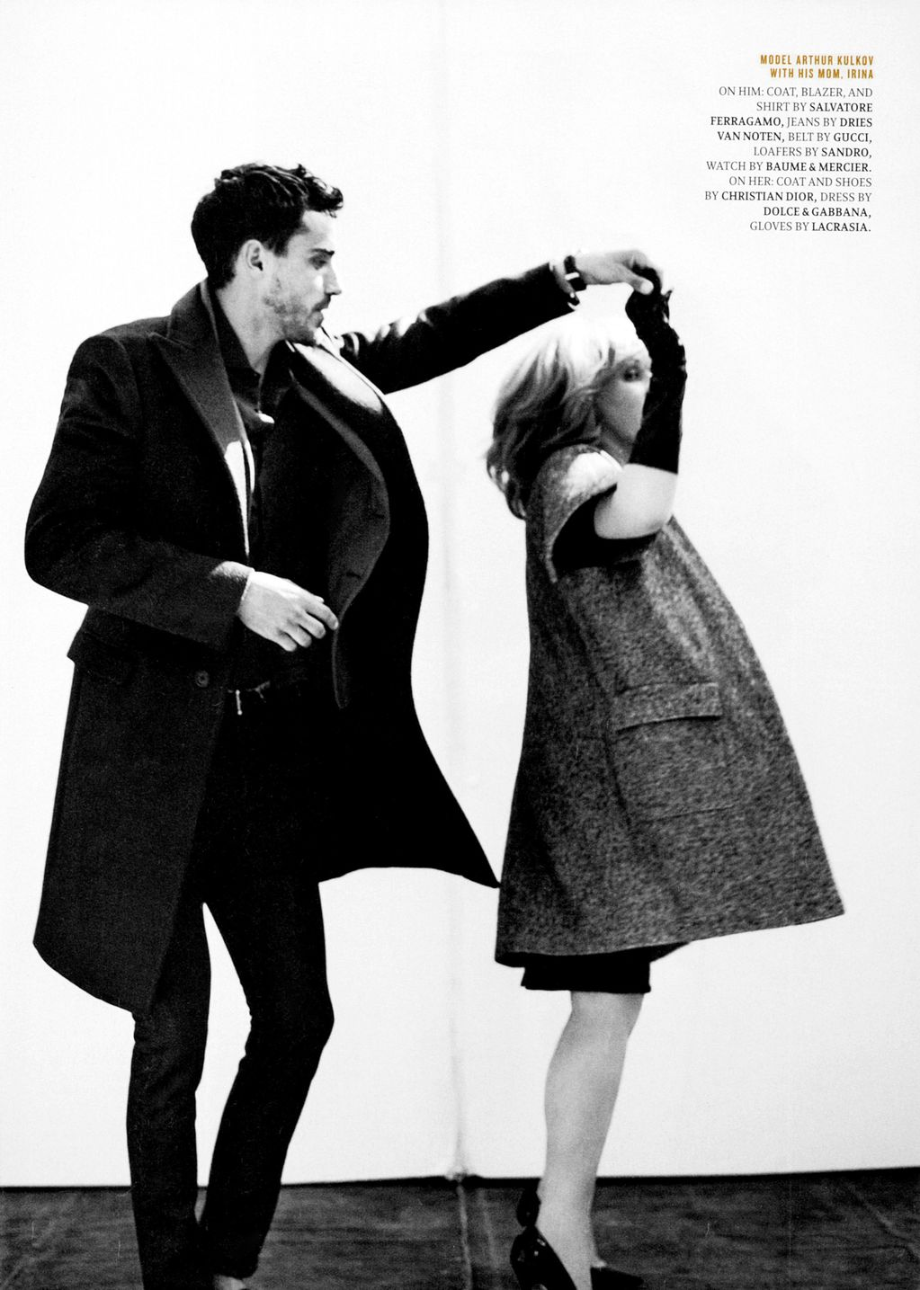 Ben Hill, Will Chalker & Others Shoot with their Friends & Family for Details' August 2012 Issue