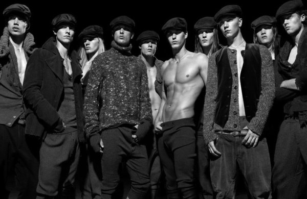 The History of Man by Robbie Fimmano for Interview June/July 2010   Dolce & Gabbana 20th