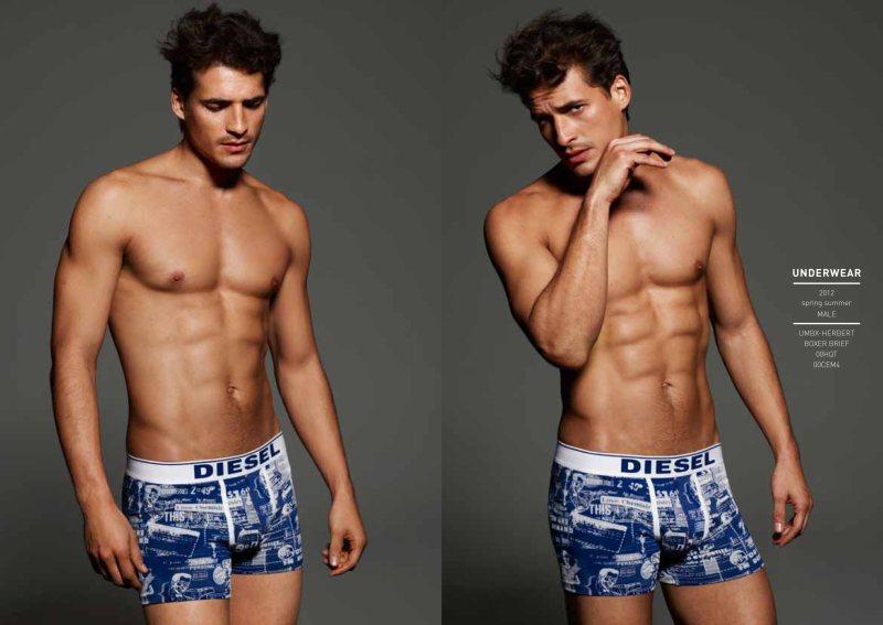Jean Carlos Santos by John Scarisbrick for Diesel Underwear/Beachwear Spring/Summer 2012