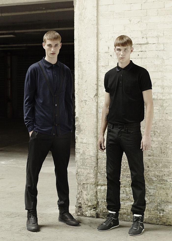Les Essentiels Dior Homme–Sportswear | Johannes Linder & Clinton Weber by Julia Champeau