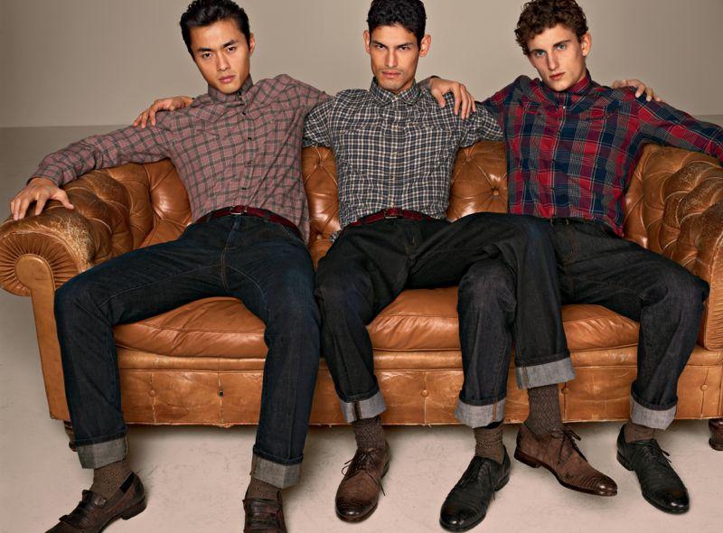 "Adam Senn, Arthur Kulkov, Robin Ahrens & Others Sport Casual Styles for Dolce & Gabbana's Fall 2012 ""Moda"" Lookbook"