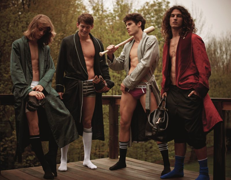 Billy Morgan, Kevin Freed, Travis Cannata & Nicola Wincenc by Mariano Vivanco for DSECTION