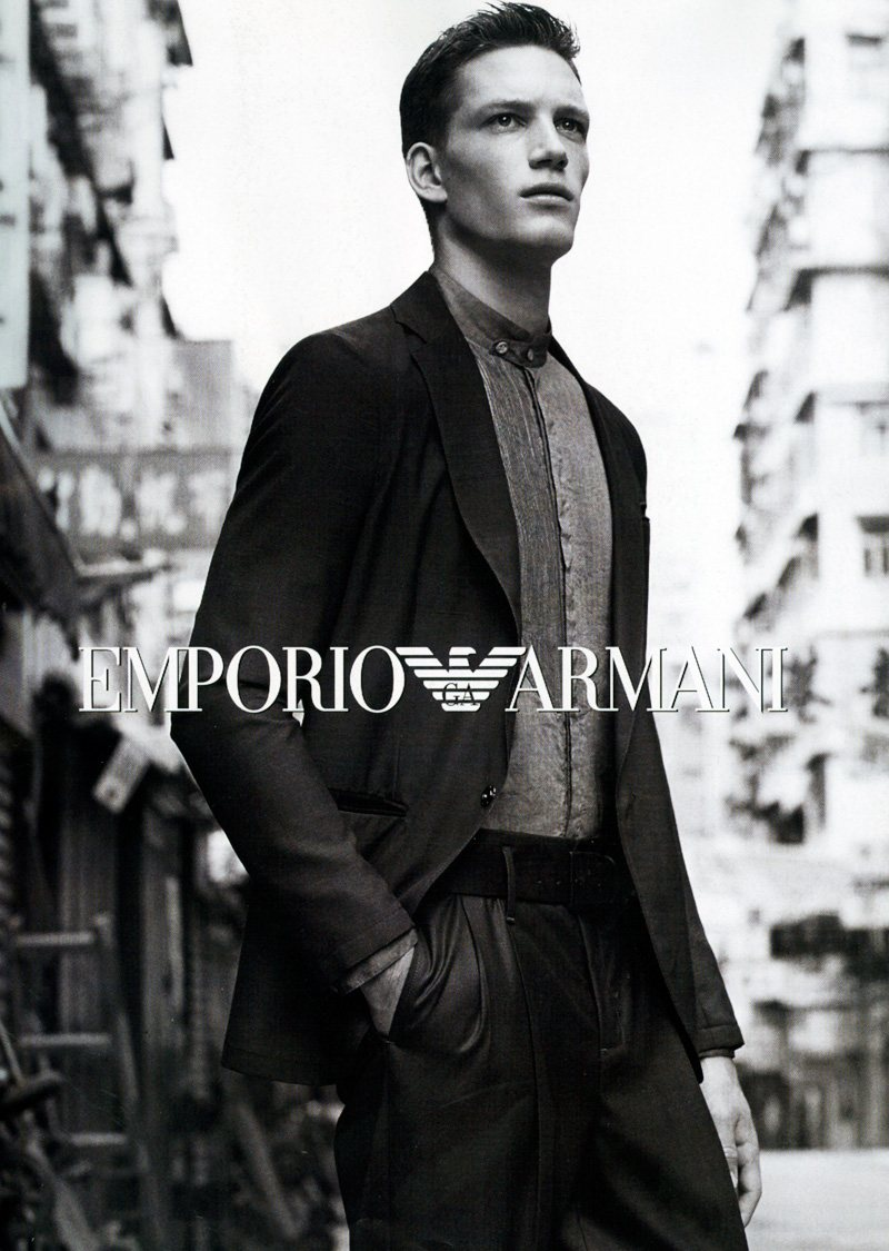 florian van bael by alasdair mclellan for emporio armani