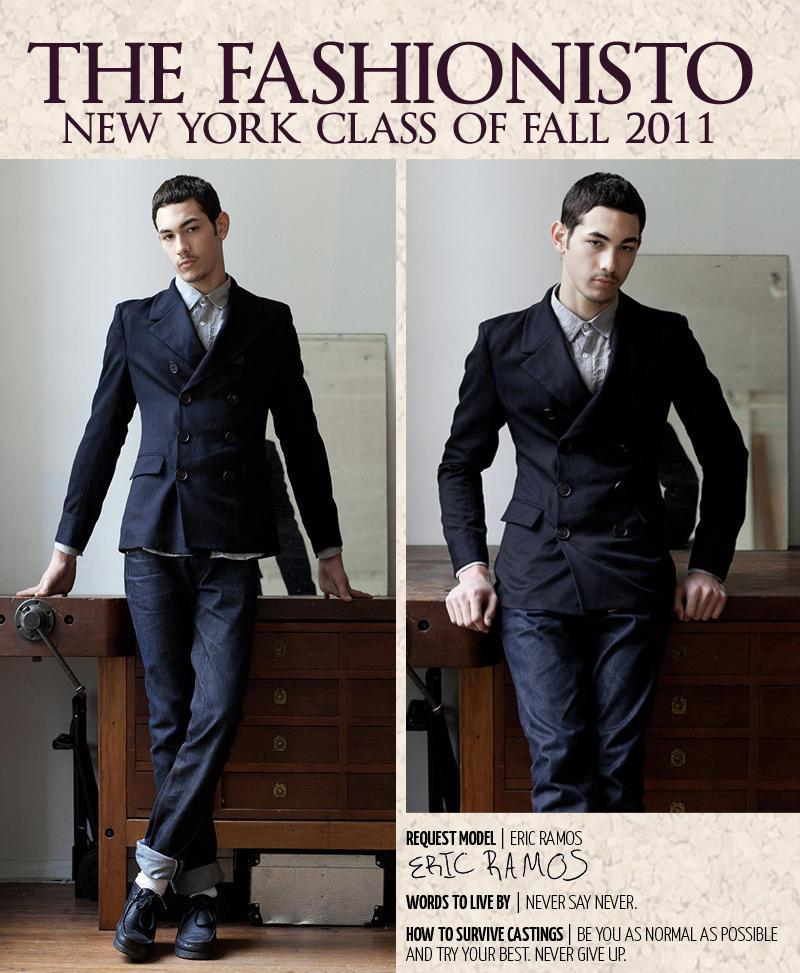 New York Class of Fall 2011   Eric Ramos by Steven Chu