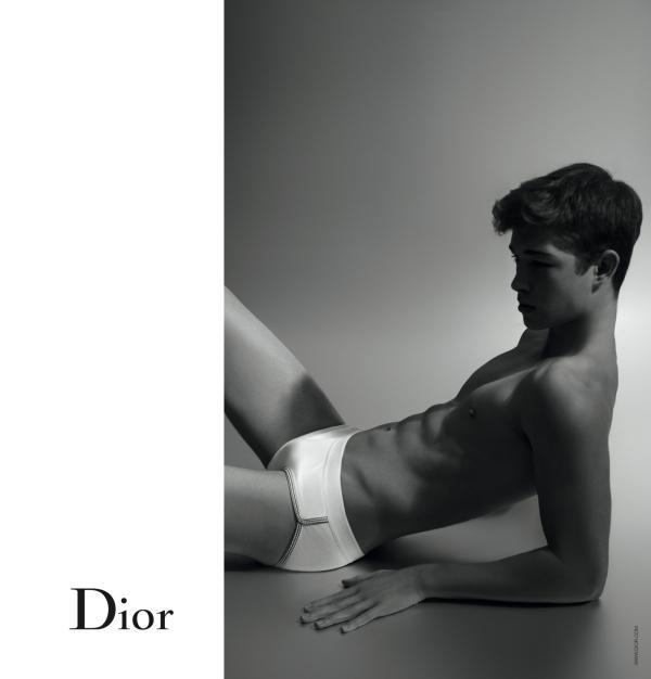 Dior Underwear Campaign | Francisco Lachowski