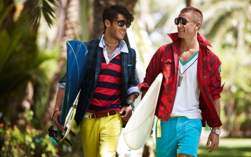 Kevin Freed & Rodrigo Calazans by Oscar Falk for Gant by Michael Bastian Spring/Summer 2012 Campaign