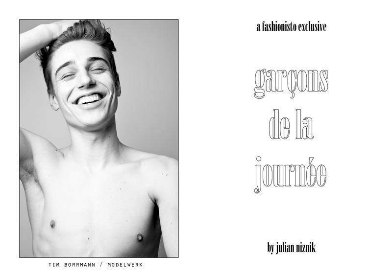 Garçons de la Journée by Julian Niznik for Fashionisto Exclusive