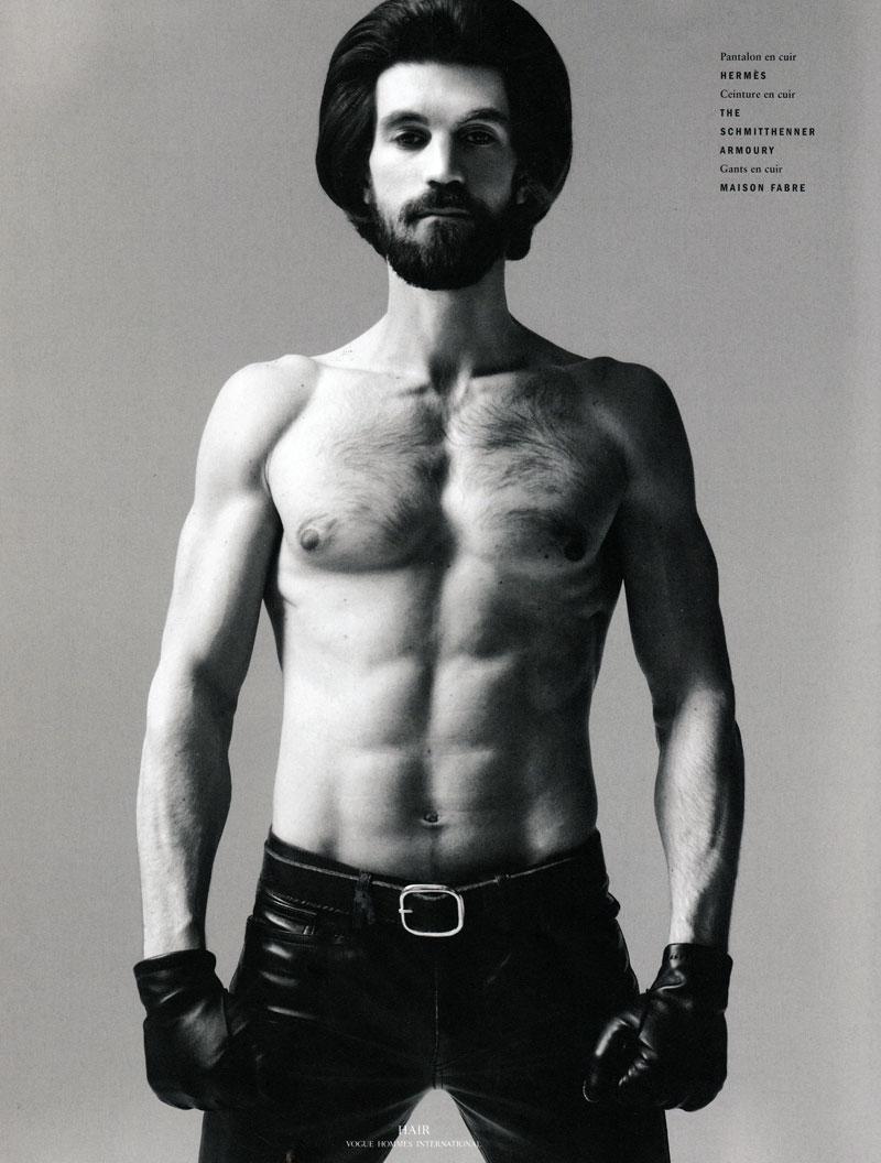 Henrik Fallenius by David Sims for Vogue Hommes International