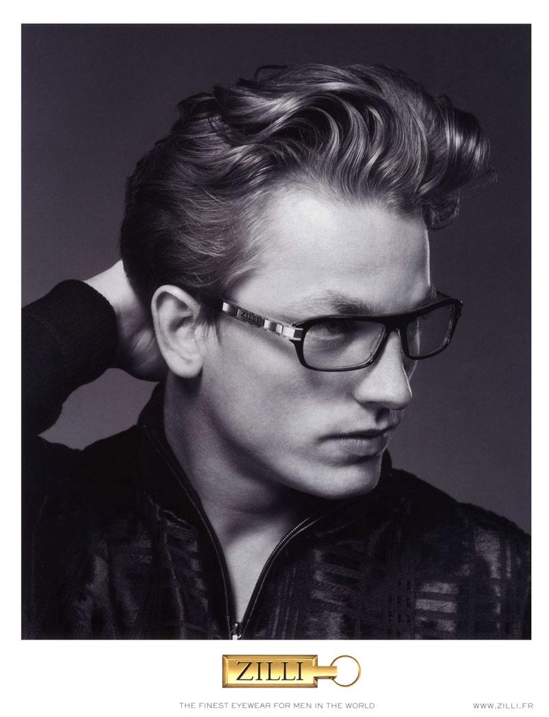 Hugo Sauzay by Jem Mitchell for Zilli Spring/Summer 2012 Eyewear Campaign
