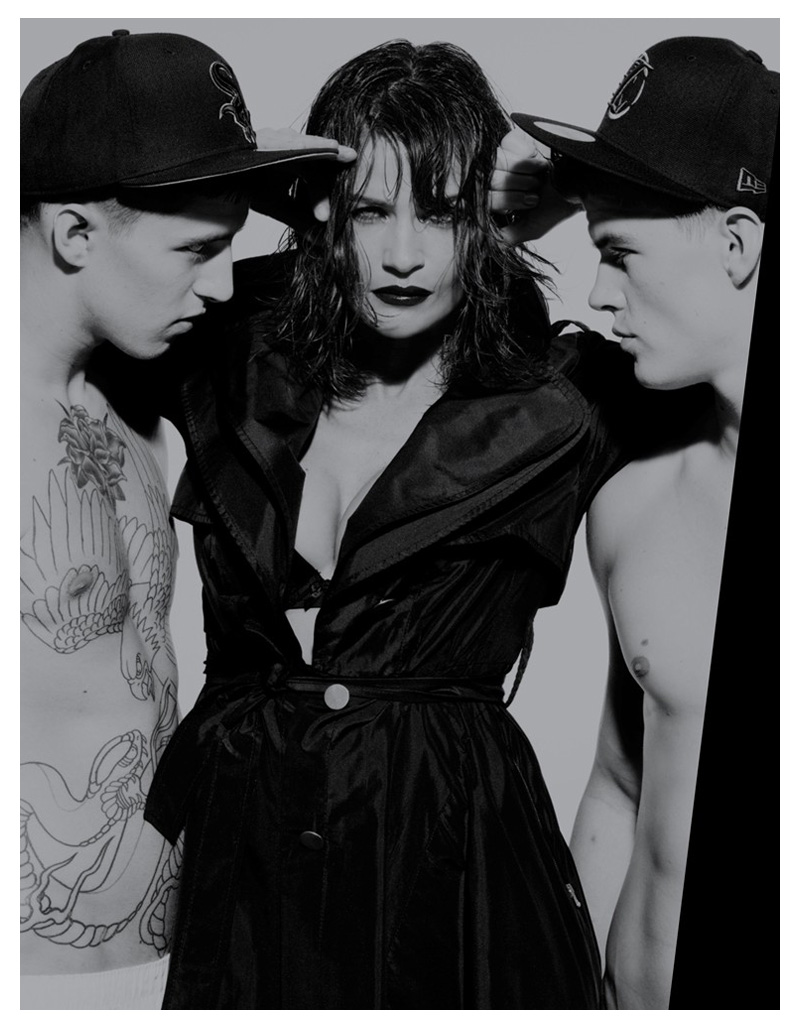 Matt Woodhouse, Francis Lane & Miles Langford by Rankin for The Hunger #2