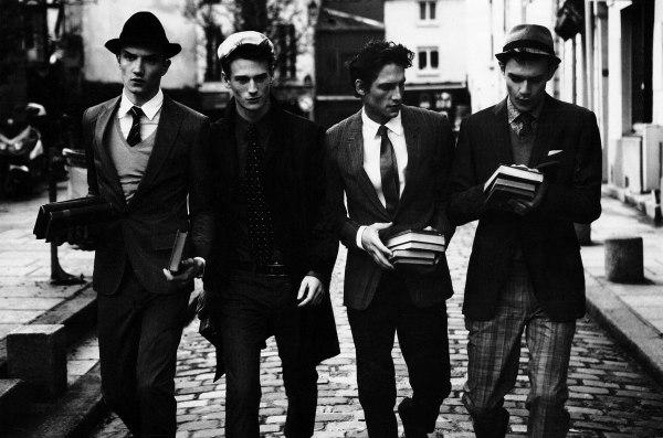 La Vie Parisienne | Douglas Neitzke, Jacob Coupe, Louis Prades, Roch Barbot & Tristan Knights by Matthew Brookes