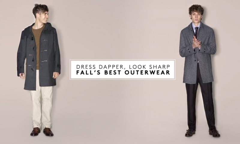 Aiden Andrews & Jacques Naude for Barneys New York Outerwear Lookbook