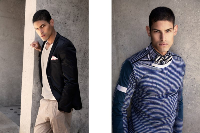 Jonathan Marquez by Hans Neumann for Royal Heart Spring 2012 Campaign