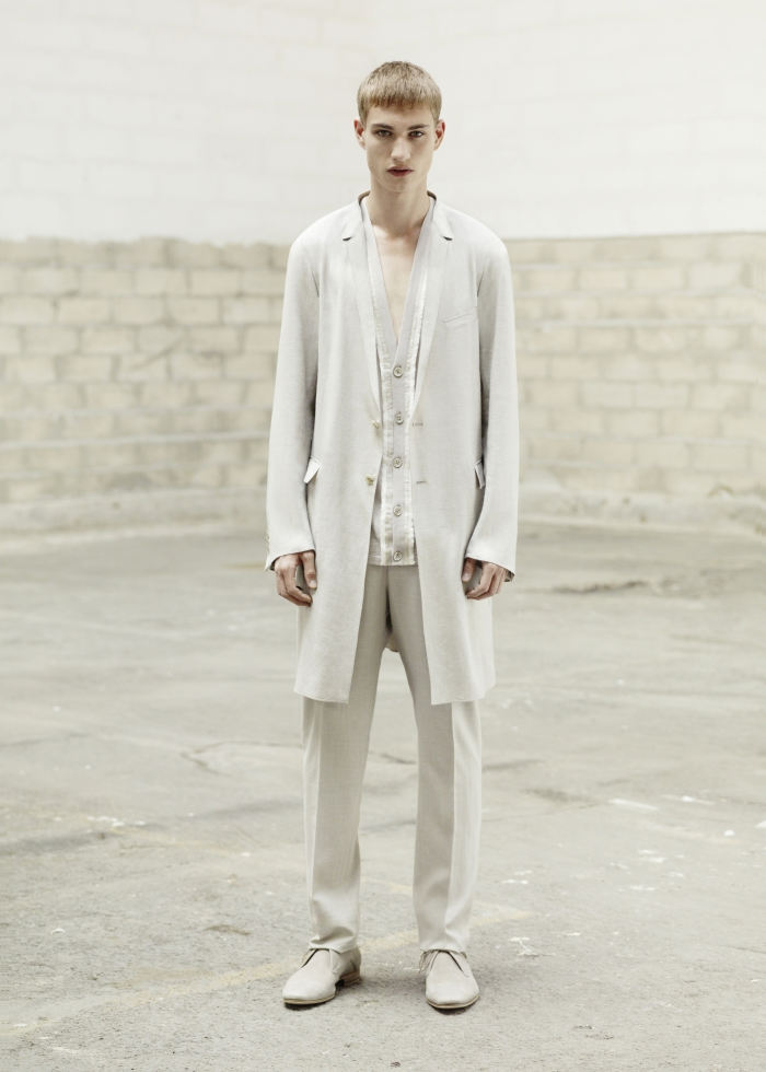 Les Essentiels Dior Homme–The Handkerchief Finish | Johannes Linder by Julia Champeau