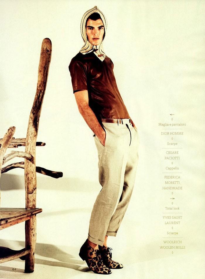 Patrick Kafka by Kostas Avgoulis for GQ Style Italia