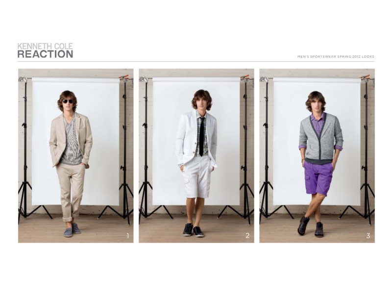 Andrew Smith for Kenneth Cole Reaction Spring/Summer 2012