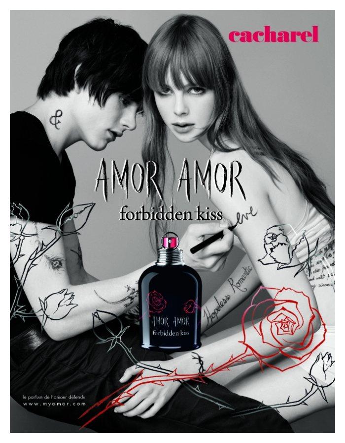 Luke Worrall by Jean-Baptiste Mondino for Amor Amor Fragrance Campaign