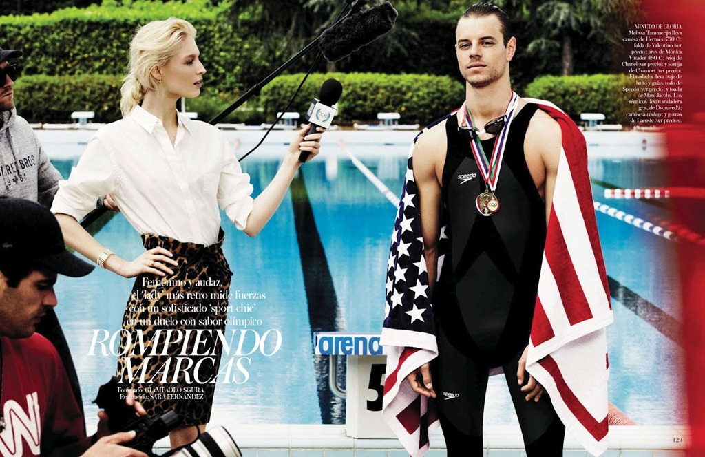 Martin Pichler is a Gold Medalist for Vogue Spain