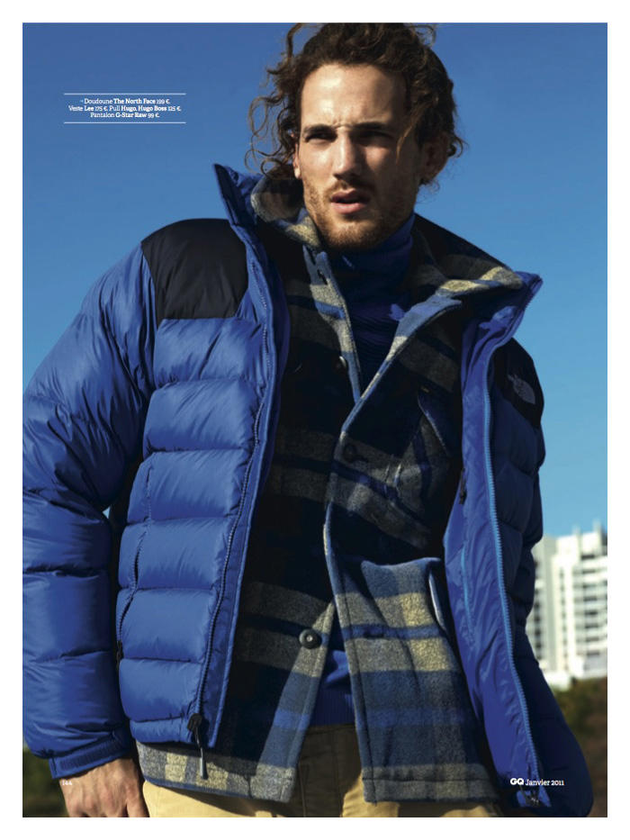 Max Rogers by David Roemer for GQ France
