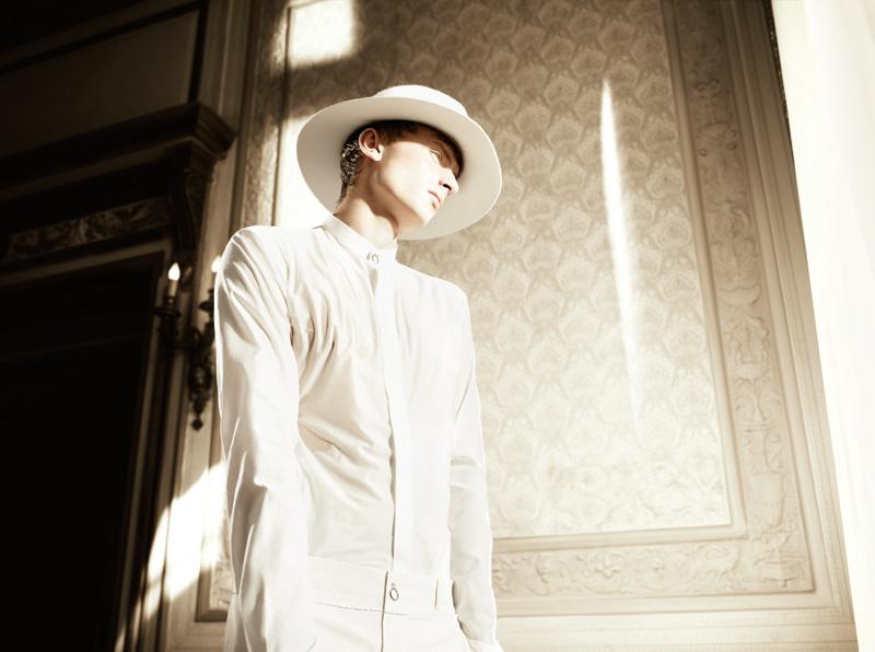 Chris Beek & Max Rendell by Willy Vanderperre for Dior Homme Spring/Summer 2012 Memoir