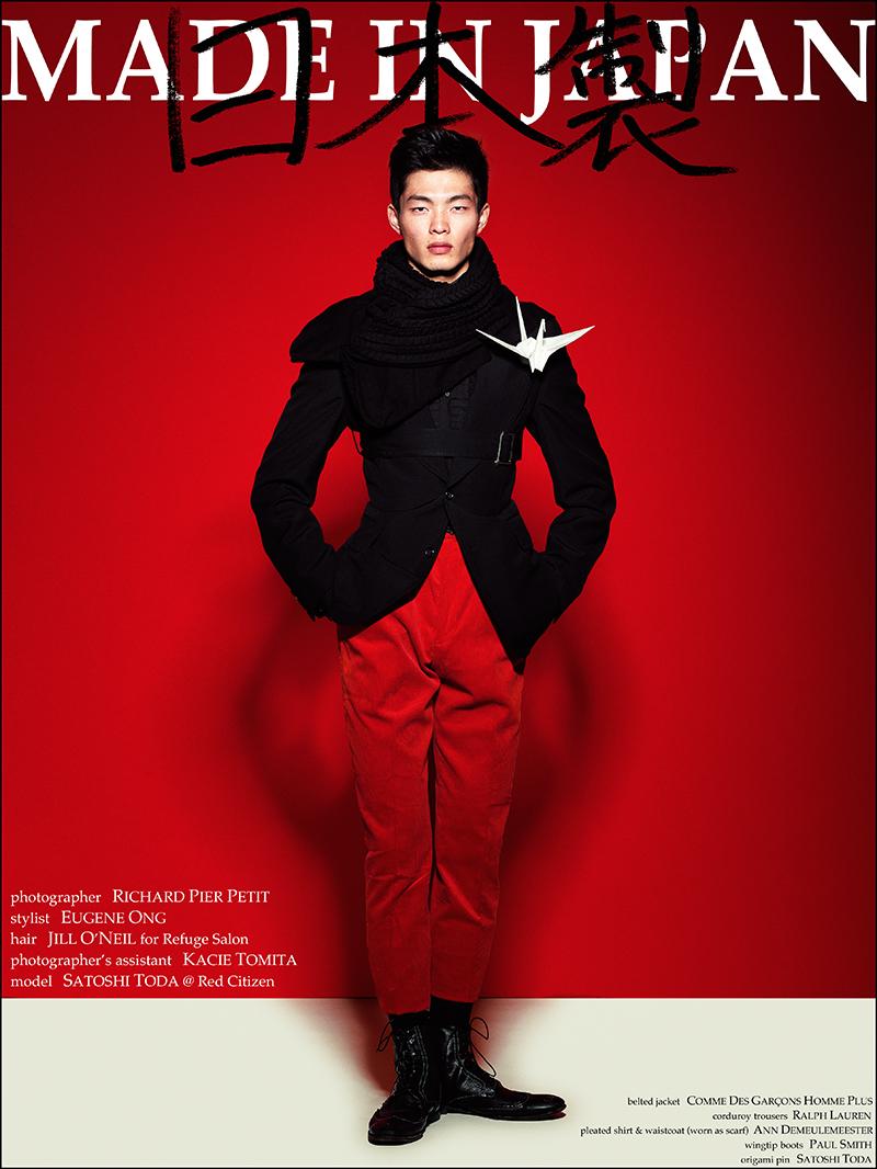 Satoshi Toda by Richard Pier Petit for Fashionisto Exclusive