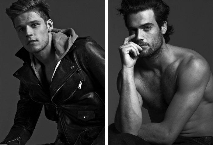 Portrait | Mikus Lasmanis & Thomas Beaudoin by Eric Ray Davidson