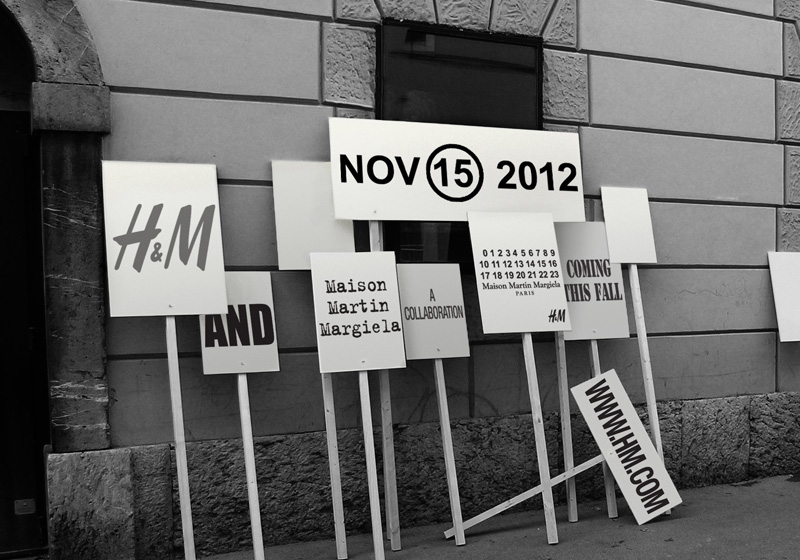 Maison Martin Margiela x H&M Confirmed for this November